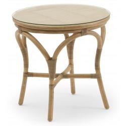 Flet bord Ø50 cm, natur