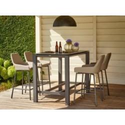 Outdoor bar sæt med 4 stole