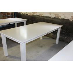 Hvidt spisebord 200 cm