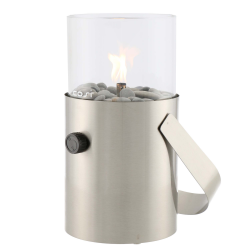 Lanterne, rustfrit stål