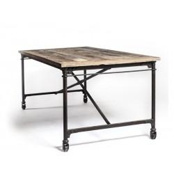 Spisebord med hjul 195 cm