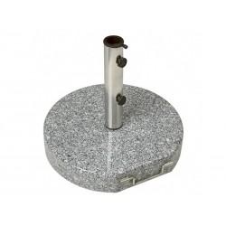 Parasolfod granit 50 kg m/hjul