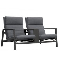 LIFE Bondi 2-seat m/hynder